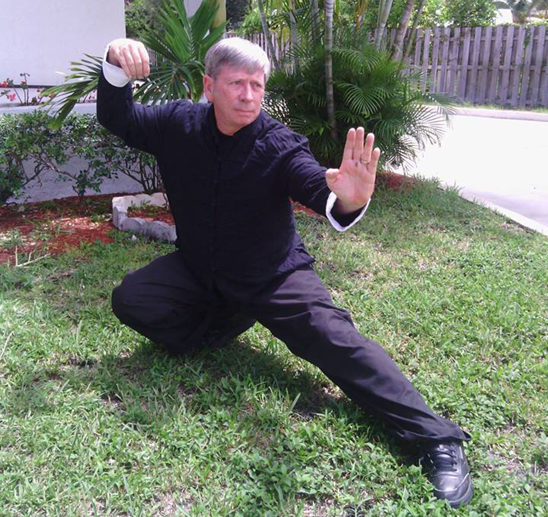 Self Defense Stance