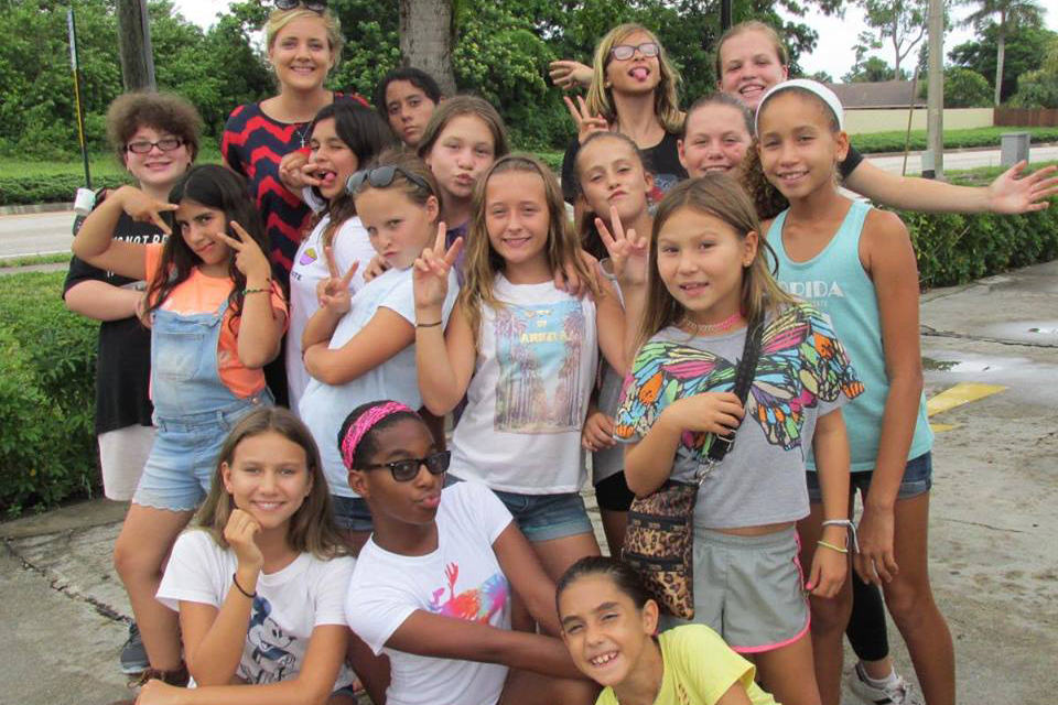Girl Campers