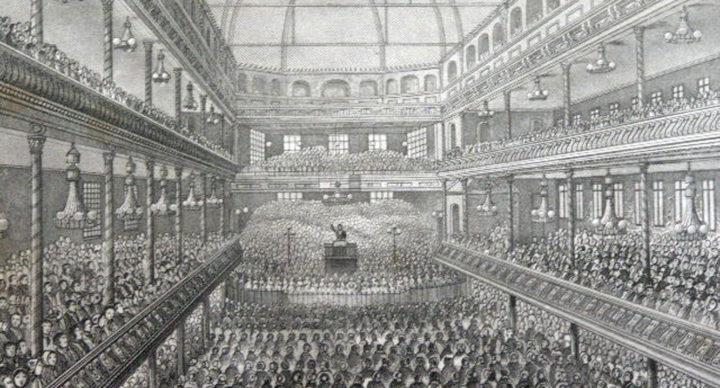 Charles Spurgeon Preaching in Surrey, England