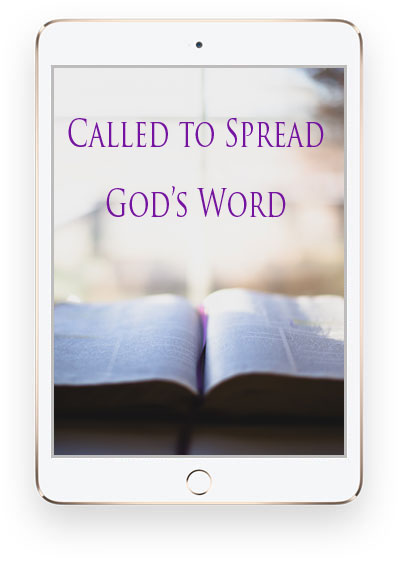 Called to Spread God's Word