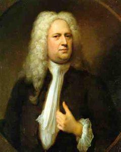Handel's Messiah - George Frederick Handel portrait