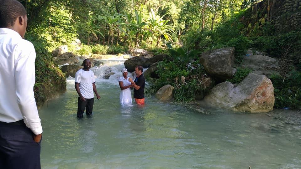 Missionary Falde Haiti Baptism