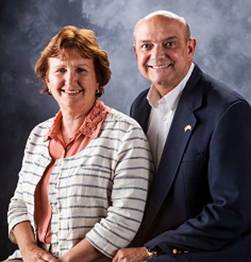 Dr. Peter Colon and wife Janis.