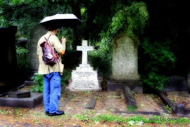 Rossvally grave in Leeds, UK.